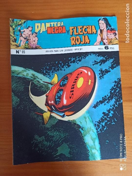 Tebeos: PANTERA NEGRA Y FLECHA ROJA CASI COMPLETA A FALTA DE LOS NUMEROS 79, 80 Y 81 - ORIGINAL - MAGA (AJ) - Foto 12 - 260831770