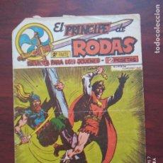 Tebeos: EL PRINCIPE DE RODAS 2ª PARTE Nº 40 - ORIGINAL - LOS DELFINES ATACAN - MAGA (7E). Lote 261201420