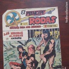 Tebeos: EL PRINCIPE DE RODAS 2ª PARTE Nº 42 - ORIGINAL - LAS NEGRAS ALMENAS DE AKRON - MAGA (7E). Lote 261201940