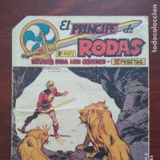 Tebeos: EL PRINCIPE DE RODAS 2ª PARTE Nº 43 - ORIGINAL - LEONES EN LIBERTAD - MAGA (7E). Lote 261202315