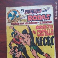 Tebeos: EL PRINCIPE DE RODAS 2ª PARTE Nº 48 - ORIGINAL - ASALTO AL CASTILLO NEGRO - MAGA (7E). Lote 261203735