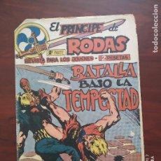 Tebeos: EL PRINCIPE DE RODAS 2ª PARTE Nº 50 - ORIGINAL - BATALLA BAJO LA TEMPESTAD - MAGA (7E). Lote 261204030
