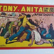 Tebeos: ORIGINAL TONY Y ANITA Nº 111 APRESADOS- QUESADA - MAGA -EXCELENTE ESTADO. Lote 261641795