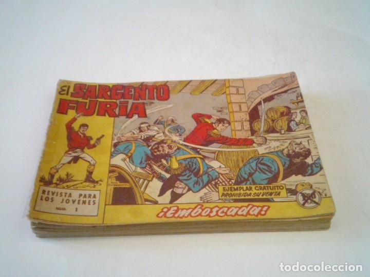 EL SARGENTO FURIA - EDITORIAL MAGA - ORIGINAL - COLECCION COMPLETA - BUEN ESTADO - GORBAUD (Tebeos y Comics - Maga - Otros)