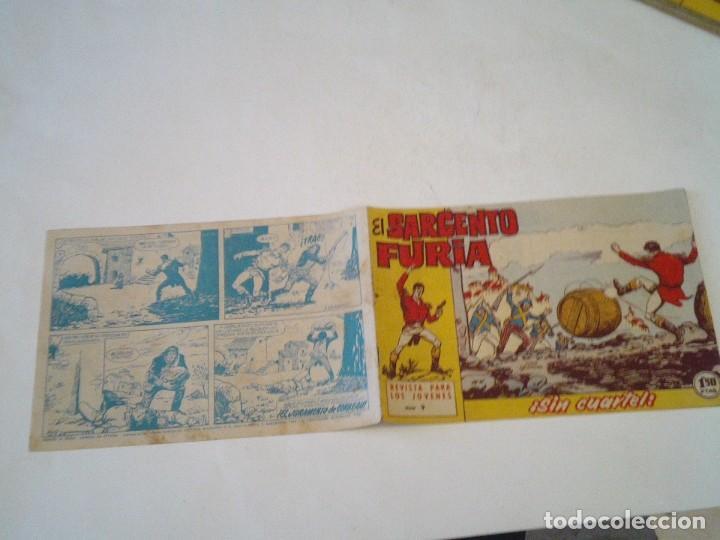 Tebeos: EL SARGENTO FURIA - EDITORIAL MAGA - ORIGINAL - COLECCION COMPLETA - BUEN ESTADO - GORBAUD - Foto 14 - 261922010