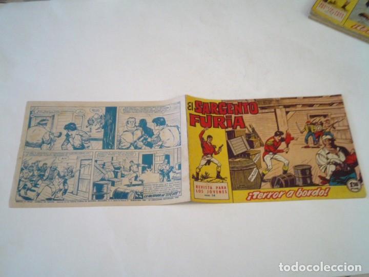 Tebeos: EL SARGENTO FURIA - EDITORIAL MAGA - ORIGINAL - COLECCION COMPLETA - BUEN ESTADO - GORBAUD - Foto 19 - 261922010