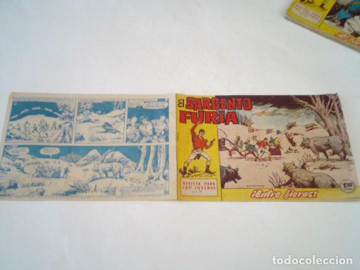 Tebeos: EL SARGENTO FURIA - EDITORIAL MAGA - ORIGINAL - COLECCION COMPLETA - BUEN ESTADO - GORBAUD - Foto 26 - 261922010