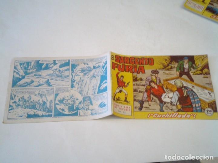 Tebeos: EL SARGENTO FURIA - EDITORIAL MAGA - ORIGINAL - COLECCION COMPLETA - BUEN ESTADO - GORBAUD - Foto 30 - 261922010