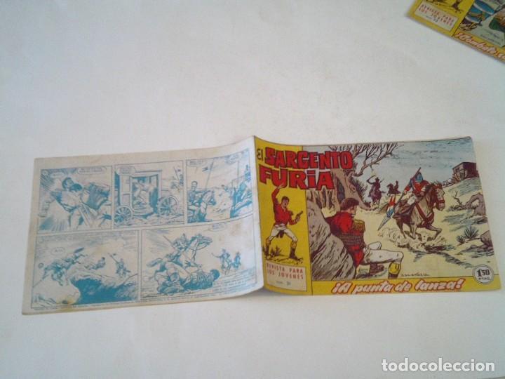 Tebeos: EL SARGENTO FURIA - EDITORIAL MAGA - ORIGINAL - COLECCION COMPLETA - BUEN ESTADO - GORBAUD - Foto 36 - 261922010