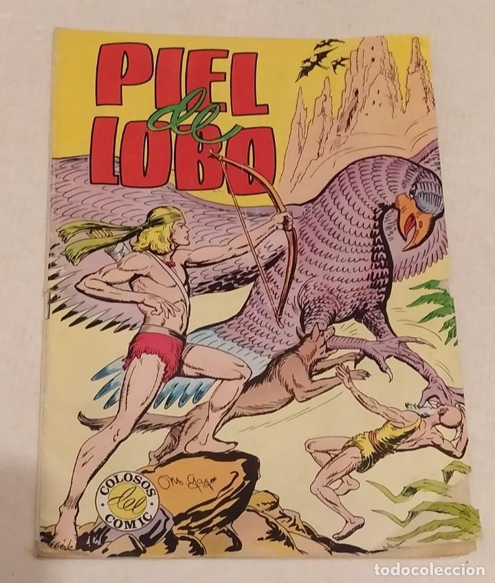 PIEL DE LOBO. COLOSOS DEL COMIC Nº 57. ED. VALENCIANA. AÑO 1980 (Tebeos y Comics - Maga - Piel de Lobo)