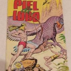 Tebeos: PIEL DE LOBO. COLOSOS DEL COMIC Nº 57. ED. VALENCIANA. AÑO 1980. Lote 262106130