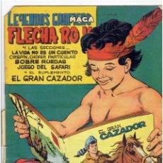 Tebeos: ARCHIVO * LEYENDAS GRAFICAS MAGA * FLECHA ROJA Nº 12, 46 * MAGA 1964 *. Lote 262134935
