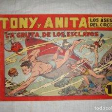 Tebeos: TONY Y ANITA. N.º 34. EDITORIAL MAGA.. Lote 262212205