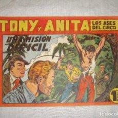 Tebeos: TONY Y ANITA. N.º 38. EDITORIAL MAGA.. Lote 262212735