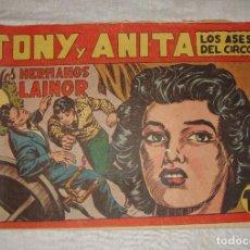 Tebeos: TONY Y ANITA. N.º 46. EDITORIAL MAGA.. Lote 262214030
