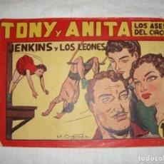 Tebeos: TONY Y ANITA. N.º 62. EDITORIAL MAGA.. Lote 262215635