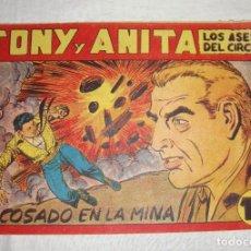Tebeos: TONY Y ANITA. N.º 116. EDITORIAL MAGA.. Lote 262219935