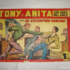 Tebeos: TONY Y ANITA. N.º 117. EDITORIAL MAGA.. Lote 262220065