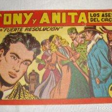 Tebeos: TONY Y ANITA. N.º 122. EDITORIAL MAGA.. Lote 262220445
