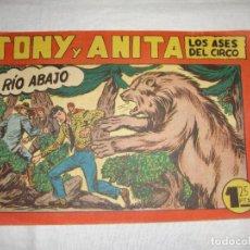 Tebeos: TONY Y ANITA. N.º 123. EDITORIAL MAGA.. Lote 262220795