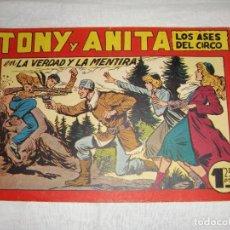 Tebeos: TONY Y ANITA. N.º 124. EDITORIAL MAGA.. Lote 262221015