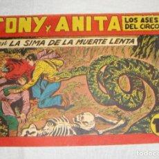 Tebeos: TONY Y ANITA. N.º 125. EDITORIAL MAGA.. Lote 262221190
