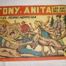 Tebeos: TONY Y ANITA. N.º 127. EDITORIAL MAGA.. Lote 262221635