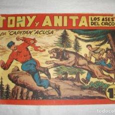 Tebeos: TONY Y ANITA. N.º 128. EDITORIAL MAGA.. Lote 262221780