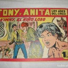 Tebeos: TONY Y ANITA. N.º 138. EDITORIAL MAGA.. Lote 262222090