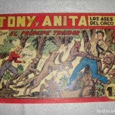 Tebeos: TONY Y ANITA. N.º 139. EDITORIAL MAGA.. Lote 262222260