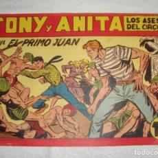 Tebeos: TONY Y ANITA. N.º 140. EDITORIAL MAGA.. Lote 262222390