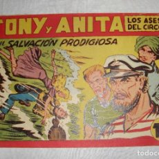 Tebeos: TONY Y ANITA. N.º 141. EDITORIAL MAGA.. Lote 262225090