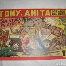 Tebeos: TONY Y ANITA. N.º 142. EDITORIAL MAGA.. Lote 262228100