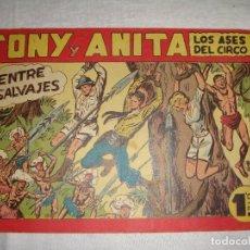 Tebeos: TONY Y ANITA. N.º 143. EDITORIAL MAGA.. Lote 262228285