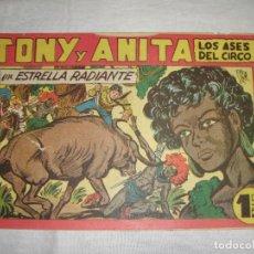 Tebeos: TONY Y ANITA. N.º 144. EDITORIAL MAGA.. Lote 262228385