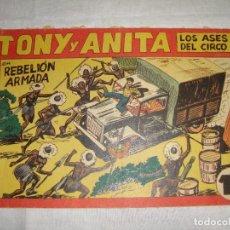 Tebeos: TONY Y ANITA. N.º 146. EDITORIAL MAGA.. Lote 262228690