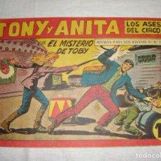 Tebeos: TONY Y ANITA. N.º 151. EDITORIAL MAGA.. Lote 262229520