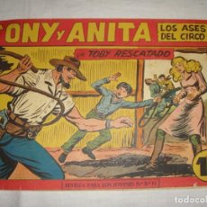Tebeos: TONY Y ANITA. N.º 153. EDITORIAL MAGA.. Lote 262229810