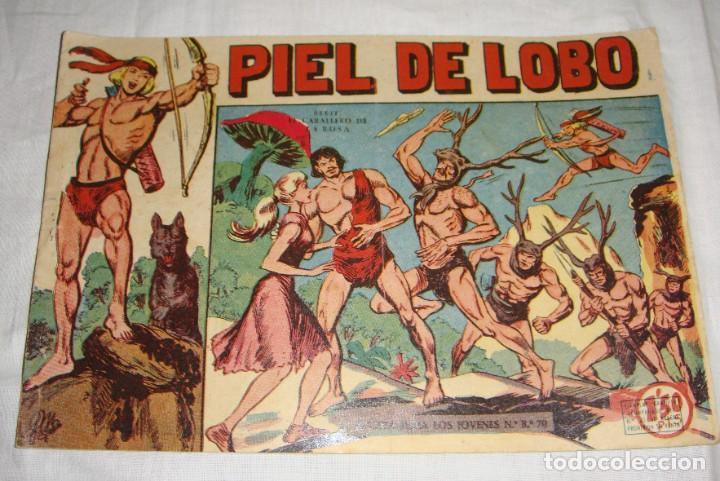 PIEL DE LOBO. N.º 1. MAGA (Tebeos y Comics - Maga - Piel de Lobo)