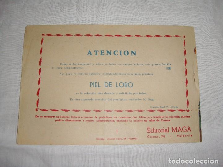 Tebeos: Piel de Lobo. N.º 1. Maga - Foto 3 - 262465190