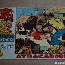 Tebeos: TONY Y ANITA, LOS ASES DEL CIRCO, Nº 13. ORIGINAL DE MAGA. LITERACOMIC.. Lote 262671200