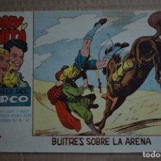 Tebeos: TONY Y ANITA, LOS ASES DEL CIRCO, Nº 22. ORIGINAL DE MAGA. LITERACOMIC.. Lote 262671615