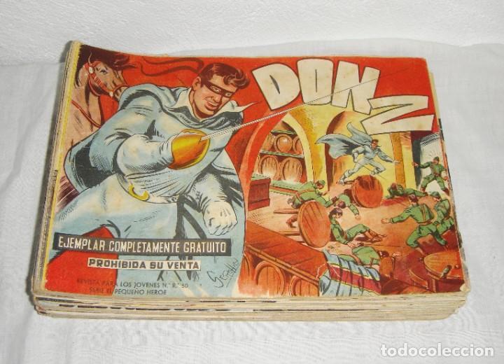 DON Z. SERIE EL PEQUEÑO HÉROE. 1958. MAGA. DEL 1 AL 66 INCLUIDOS. (Tebeos y Comics - Maga - Don Z)