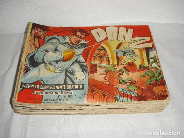 Tebeos: DON Z. Serie el pequeño héroe. 1958. Maga. Del 1 al 66 incluidos. - Foto 2 - 262719980