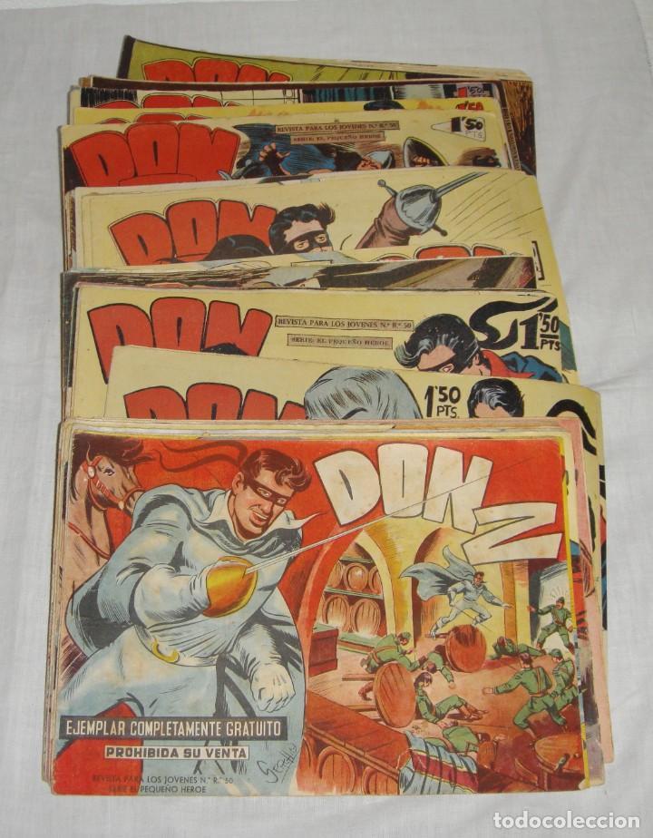 Tebeos: DON Z. Serie el pequeño héroe. 1958. Maga. Del 1 al 66 incluidos. - Foto 5 - 262719980