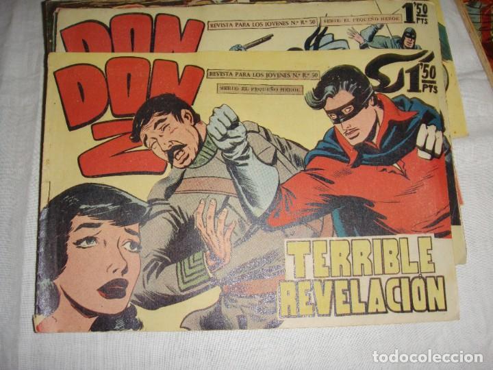 Tebeos: DON Z. Serie el pequeño héroe. 1958. Maga. Del 1 al 66 incluidos. - Foto 6 - 262719980