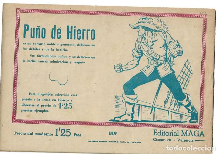 Tebeos: PACHO DINAMITA - NUM 129 - ORIGINAL - Foto 2 - 262744850