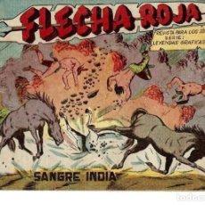 Tebeos: FLECHA ROJA Nº 6 ORIGINAL, EDITORIAL MAGA. Lote 262856860