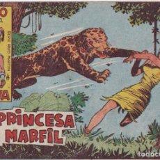 BDs: RAYO DE LA SELVA : NUMERO 18 LA PRINCESA DEL MARFIL , EDITORIAL MAGA. Lote 263066620