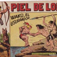 Tebeos: PIEL DE LOBO: NUMERO 40 WAKU, EL USURPADOR , EDITORIAL MAGA. Lote 263076345